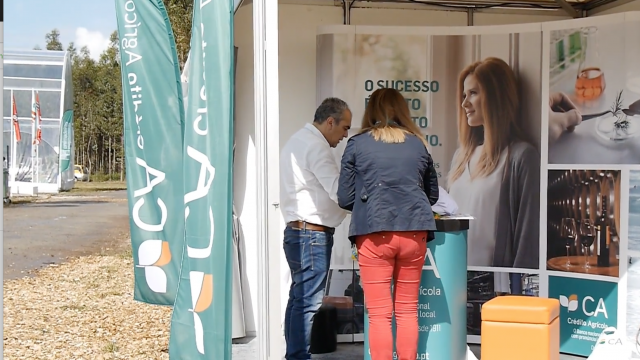 Caixa de Crédito Agrícola is a Platinum sponsor of the XI EXPOFLORESTAL