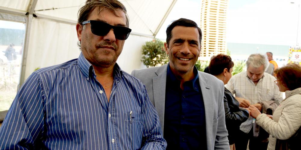 Miguel Viegas, deputado no Parlamento Europeu, está a visitar a Expoflorestal
